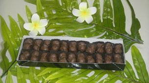 Hand Dipped Whole Macadamia Nuts in Milk Chocolate 8oz